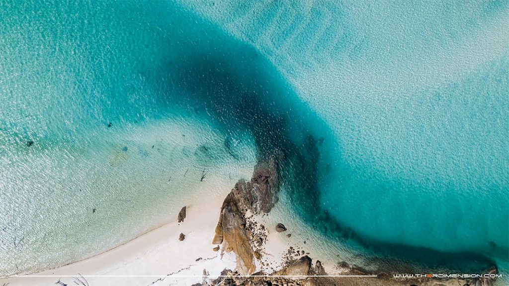 hill inlet aerial drone