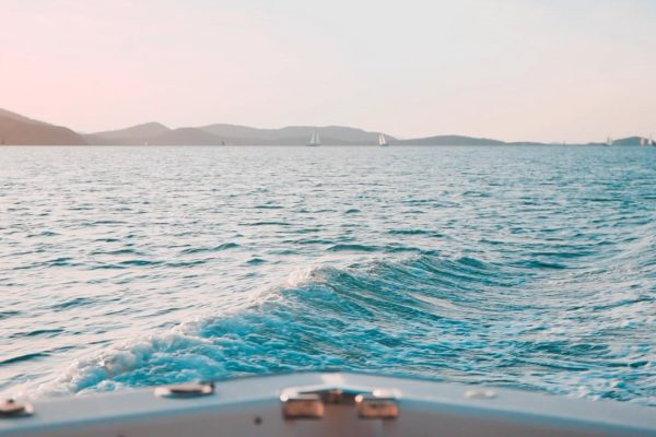ocean from boat view