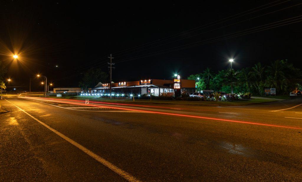 night outdoor jubilee tavern
