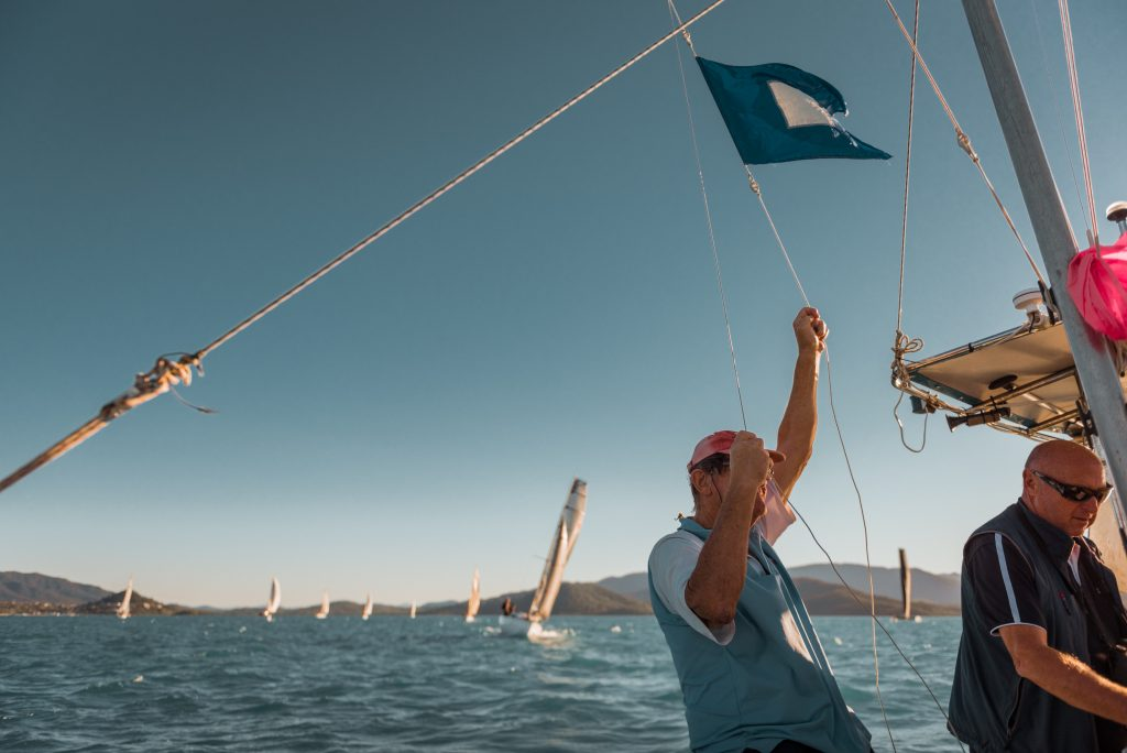 sailing race flags