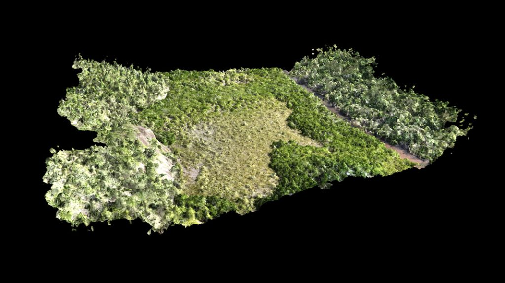 topographical map drone