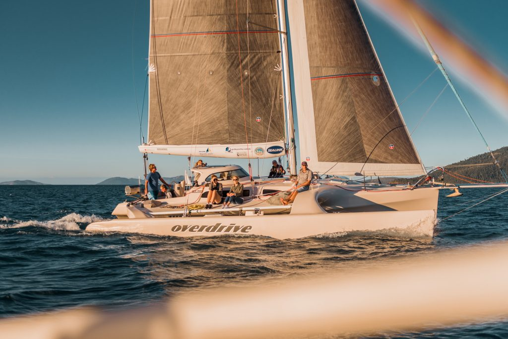 Whitsunday sailing yachts racing