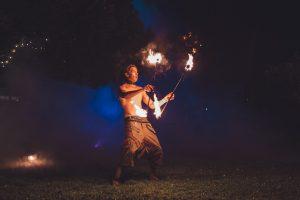 fire twirler wildfire event